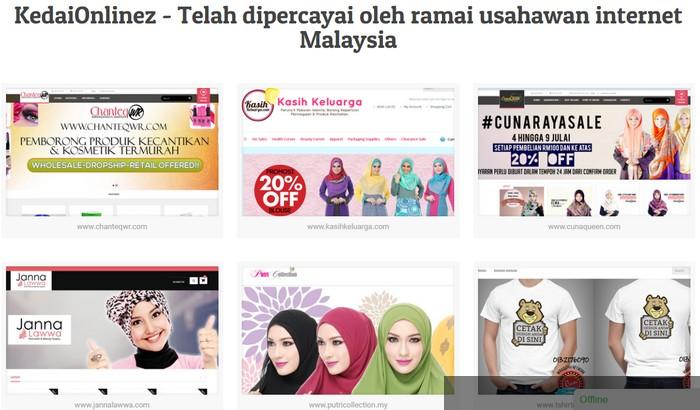 kedai online eCommerce Malaysia