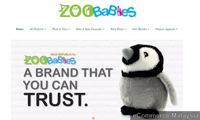 Contoh kedai online eCommerce menarik