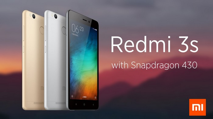 Gambar sebenar Xiaomi Redmi 3S