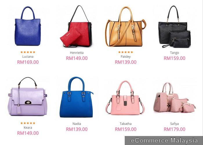 membeli beg tangan wanita berkualiti secara online