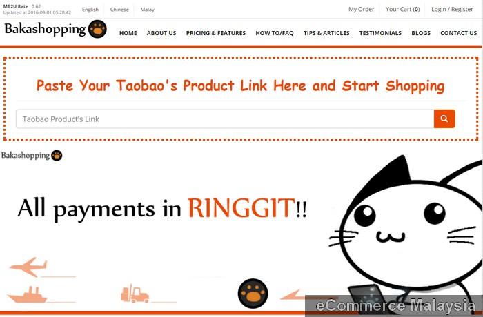 order barang dari Taobao menggunakan agen