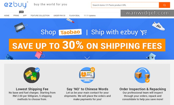 Agent Taobao Malaysia dari EzBuy