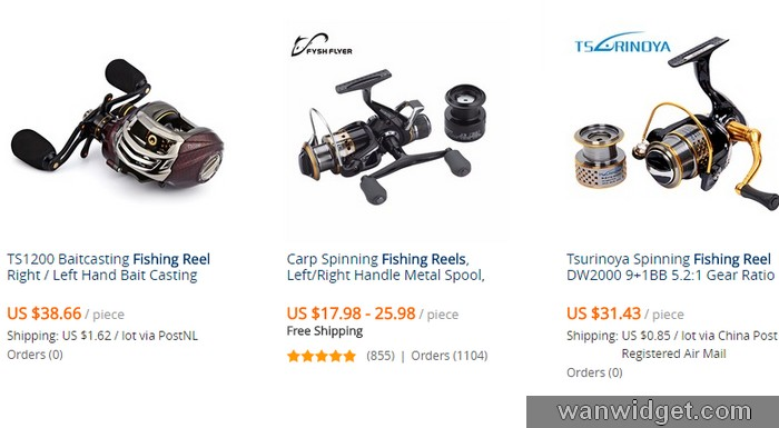 Beli mesin fishing reel yang murah di internet