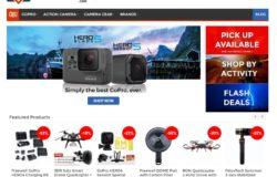 Laman web eCommerce kamera digital Malaysia