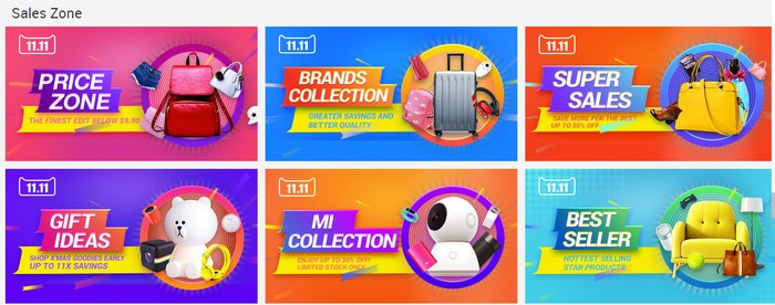super deal online mega sales dari EzBuy pada 11 november