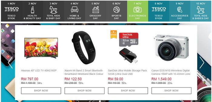 super deal online mega sales dari Lazada pada 11 november