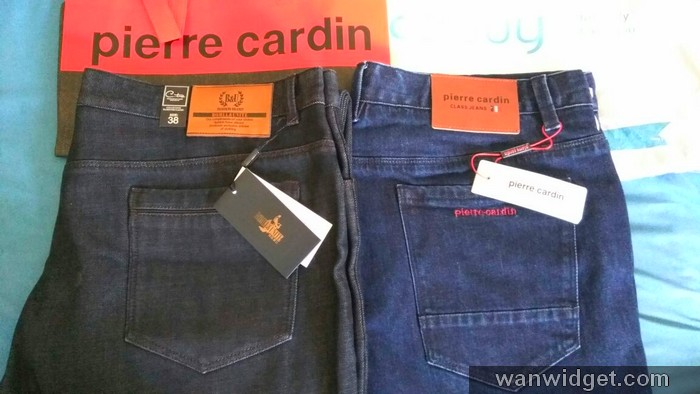 Seluar jeans murah dari Taobao TMall berjaya saya beli