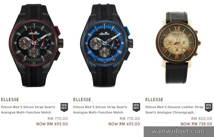 Beli jam tangan jenama Ellesse di website Zalora