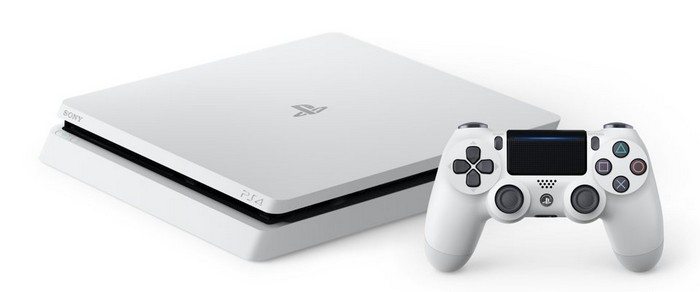 PlayStation 4 slim white version