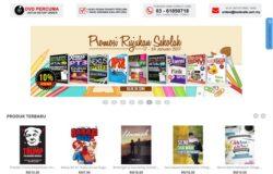Website eCommerce untuk jual beli buku keluaran penulis melayu bahasa Malaysia