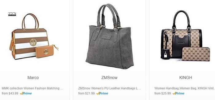 Beli beg tangan wanita berkualiti dan murah di Amazon