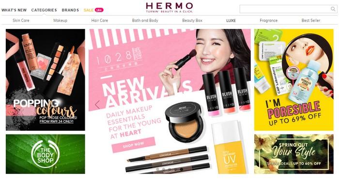 Beli produk kecantikan wanita buatan jenama korea original asli