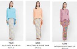 Fashion pakaian baju kurung moden wanita muslimah