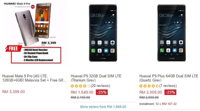 Huawei antara smartphone buatan China paling berkualiti