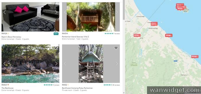 Mencari homestay Malaysia mudah dengan eCommerce AirBnB