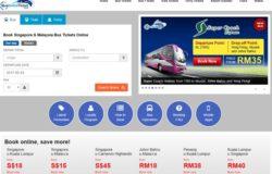 Order tiket bas online express di internet