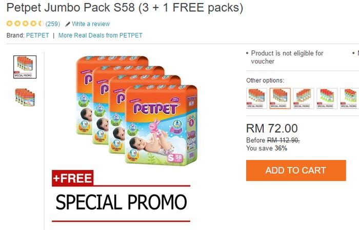 Produk best seller dari PetPet antara produk paling laris di beli secara online