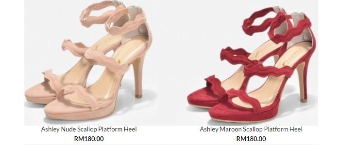 Rekaan kasut perempuan trend terkini dari ChristyNg