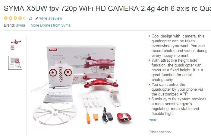 Set drone murah online jenama Syma yang bagus