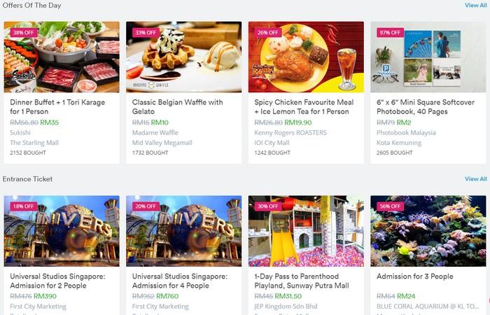 Website deals diskaun yang terbaik di Malaysia