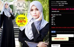 jenama pakaian jubah muslimah yang bergaya dan selesa