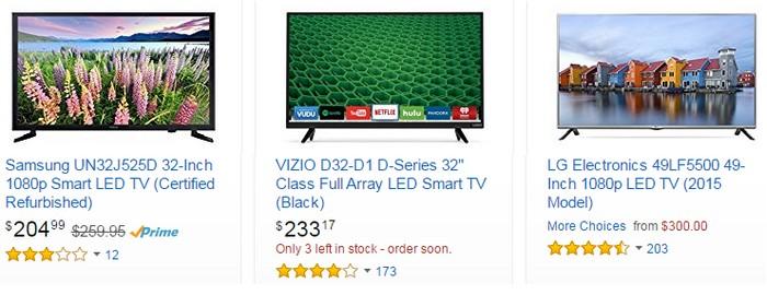 Anda juga boleh beli led tv dari luar negara di internet melalui web ecommerce Amazon