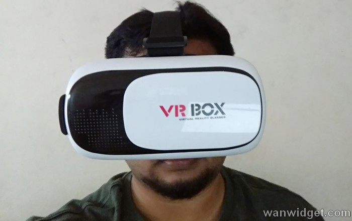 Bagaimana saya memakai dan menggunakan alat VR Box