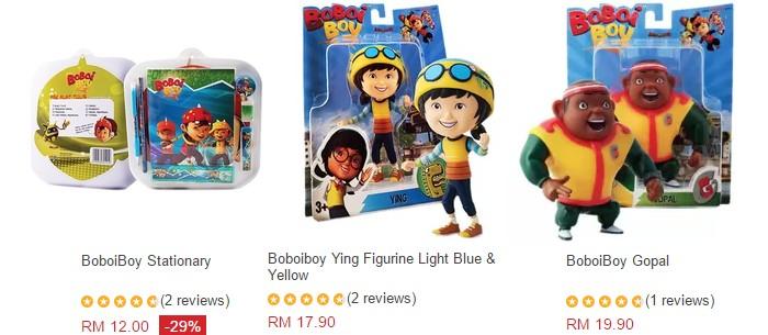 Beli barang Boboiboy mainan yang murah secara online
