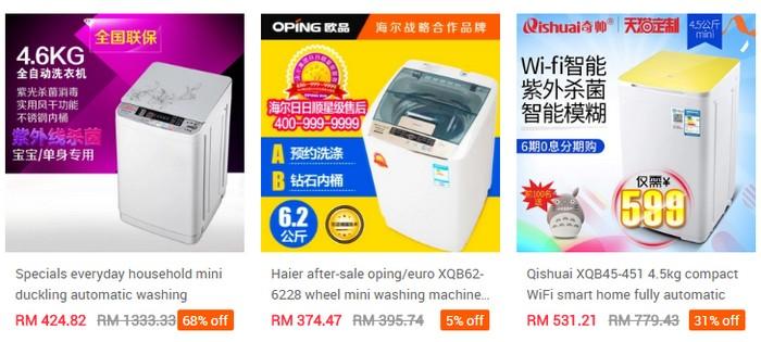 Beli mesin basuh automatik yang murah online dari China