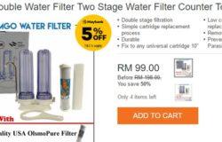 Beli penapis air murah online di Lazada Malaysia