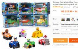 Beli set permainan kanak kanak yang murah di internet Aliexpress