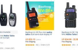 Beli walkie talkie murah yang unik dan cantik di Aliexpress