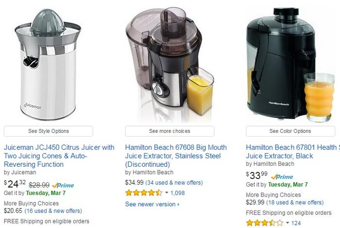 Dapatkan mesin juicer buahan yang berkualiti di Amazon