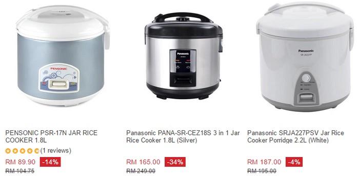 Dapatkan periuk nasi eletrik yang murah melalui website internet