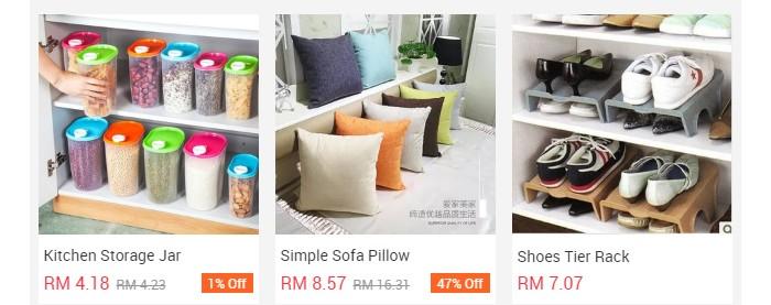 Harga sangat murah jika beli barang China di taobao in english versi Malaysia