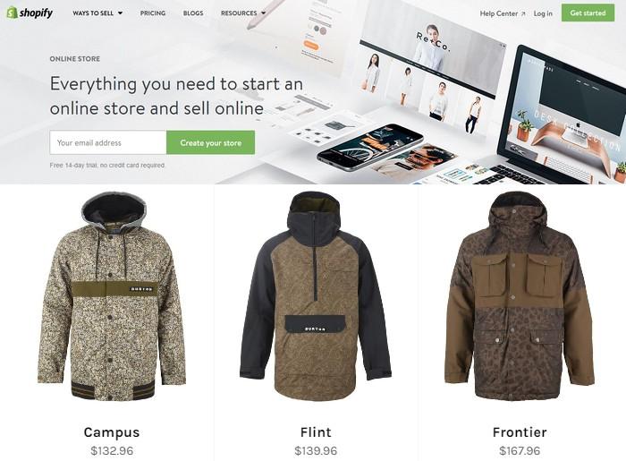 Teknik cara menjual produk online menggunakan eCommerce dari Shopify