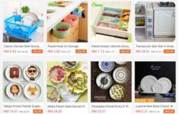 Website taobao in english dari Malaysia memaparkan produk dari Taobao China