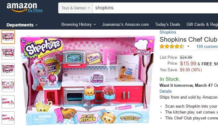 You can buy at Amazon to get cheap toys for Child