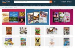 eCommerce bookstore terpercaya dari website buku online Lazada Malaysia