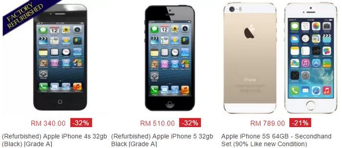 Anda boleh membeli iPhone murah online melalui website eCommerce Lazada Malaysia