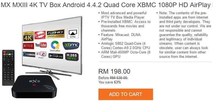 Aplikasi android box yang sesuai untuk menukar tv lcd dan tv led anda menjadi smart tv