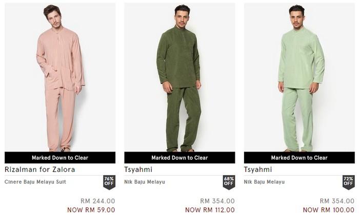 Beli baju melayu murah yang berkualiti secara online di Zalora Malaysia