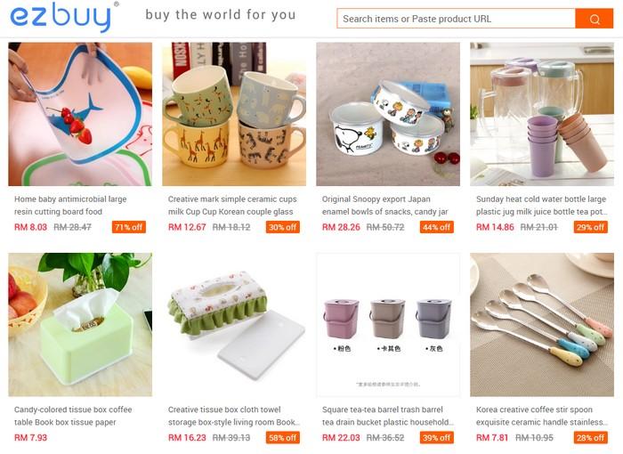 Beli borong barang murah dari China melalui website eCommerce agent taobao Malaysia