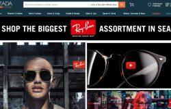 Beli cermin mata berjenama Ray Ban secara online di website eCommerce Lazada Malaysia