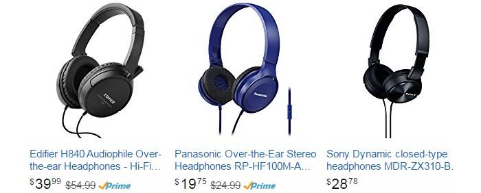Beli headphone berkualiti bunyi online melalui website eCommerce Amazon