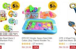 Beli mainan kanak kanak murah online di website eCommerce Lazada Malaysia