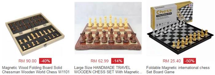 Beli papan catur yang murah secara online di website eCommerce Lazada Malaysia