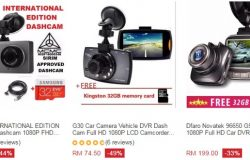 Beli perakam video kenderaan murah online di website eCommerce Lazada Malaysia