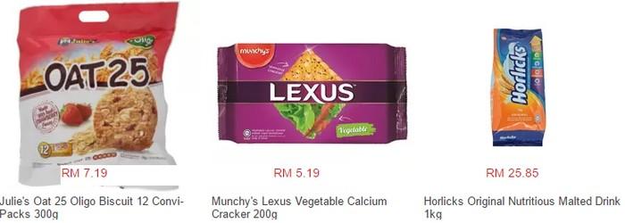 Beli produk berasaskan makanan ringan dan kering di Lazada Malaysia