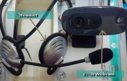 Beli webcam model jenama Logitech C270h yang berharga murah